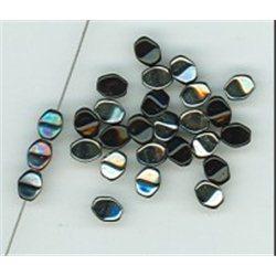 Pohanka - mačkané korálky , 111-54-805 5mm 23980-27001, balení 10g balení 10 g , orientačně 126 ks