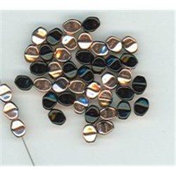 Korálky skleněné mačkané - Pohanka 111-54-805 5 mm 23980-27101