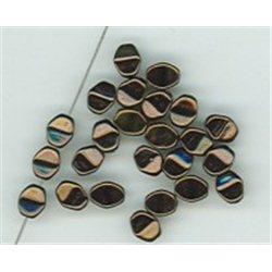 Pohanka - mačkané korálky , 111-54-805 5mm 23980-15726, balení 10g balení 10 g , orientačně 126 ks