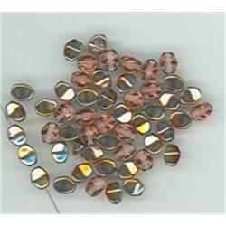 Korálky skleněné mačkané - Pohanka 111-54-805 5 mm 00030-29500