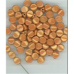 Pohanka - mačkané korálky , 111-54-805 7mm 02020-14497, balení 10g balení 10 g , orientačně 60 ks