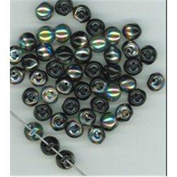 Mačkané korálky , 111-95-031 6x5mm 23980-28101, balení 10g balení 10 g , orientačně 39 ks