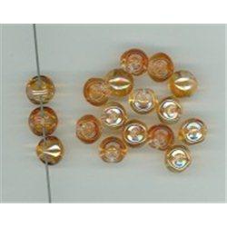 Mačkané korálky , 111-95-031 9x8mm 00030-29121, balení 10g balení 10 g , orientačně 14 ks