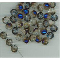Mačkané korálky , 111-95-031 9x8mm 00030-29900, balení 10g balení 10 g , orientačně 14 ks