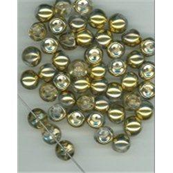 Mačkané korálky , 111-95-031 9x8mm 00030-26441, balení 10g balení 10 g , orientačně 14 ks