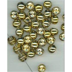 Mačkané korálky , 111-95-031 9x8mm 00030-26440, balení 10g balení 10 g , orientačně 14 ks