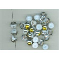 Korálky skleněné mačkané 111-95-031 9x8 mm 02020-28001