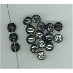 Mačkané korálky , 111-95-031 9x8mm 23980-27401, balení 10g balení 10 g , orientačně 14 ks