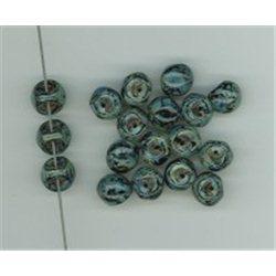 Mačkané korálky , 111-95-031 9x8mm 23980-86800, balení 10g balení 10 g , orientačně 14 ks