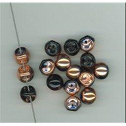 Mačkané korálky , 111-95-031 9x8mm 23980-27101, balení 10g balení 10 g , orientačně 14 ks