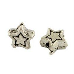 Korálek kovový, hvězdička L3206