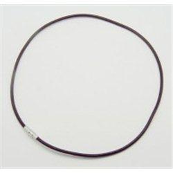 Kožený náhrdelník-magnetické zapínaní  L3233