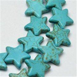 Syntetický korálek -hvězda  L3209