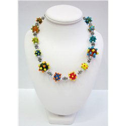 Náhrdelník z vinutých perlí A1088