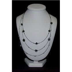 Náhrdelník z vinutých perlí A1091
