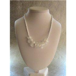 Náhrdelník z vinutých perlí A1092