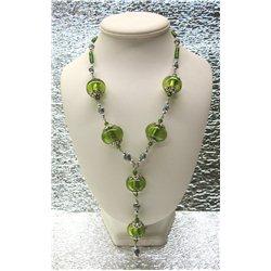 Náhrdelník z vinutých perlí A1084B