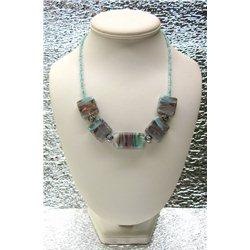 Náhrdelník z vinutých perlí A1086A
