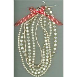 Voskované perle, mix velikostí, VÝHODNÉ BALENÍ