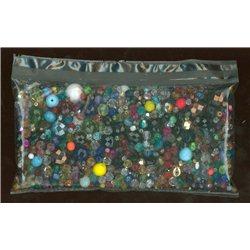 Mix skleněných broušených korálků 250 g