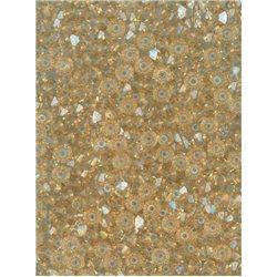 M.C.rondelky 3 x 5 mm, barva 00030-14413 crystal s dekorem