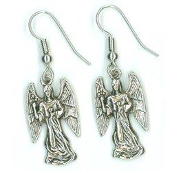 Náušnice anděl W0018