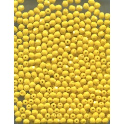 Broušené korálky 4 mm 68116 aqua-hnědá bal. 100 ks