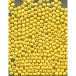 Korálky broušené, ohňovky 4 mm