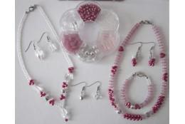Hobby korálkový set - růžový