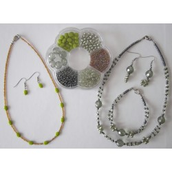 Hobby korálkový set - zelený