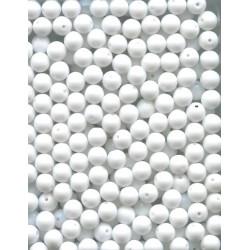 Broušené korálky 6 mm 30050 safír bal. 120 ks