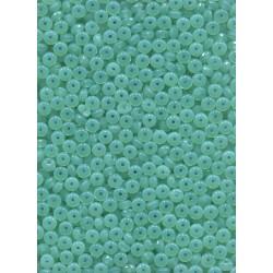 Broušené korálky 10 mm 01000 bílý opál bal. 50 ks