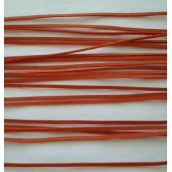 Kůže plochá oranžová L1174