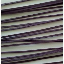 Kůže plochá fialová L1174