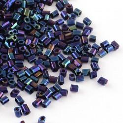 Rokail (rokajl) Bugles (čípky) sv. modrá, (2,5 mm) č. 169S balení 50g 50 g