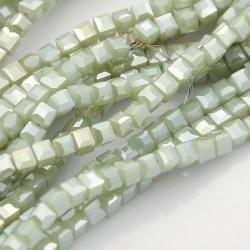 Korálek ze syntetického kamene Jade L3709