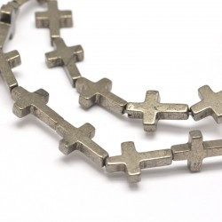 KŘÍŽEK - kovový korálek L3205